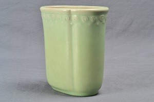 Rookwood Pottery Vase Matt Green Oblong 6093 1929 125 00 The Kings Fortune Vintage And