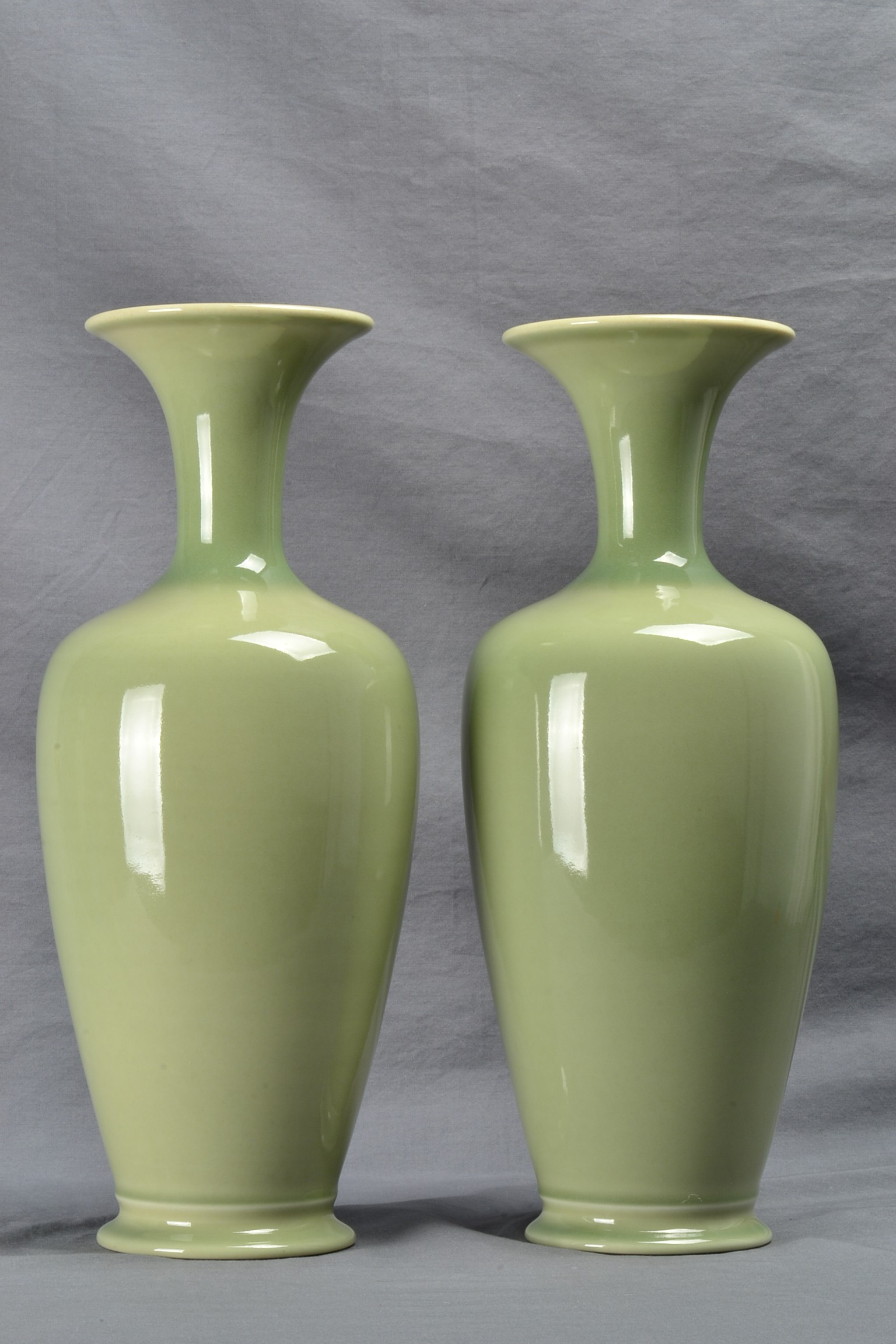 Vintage Rookwood Pottery Vases Celadon Green Shape 216 1942 Rookwood Pottery Products