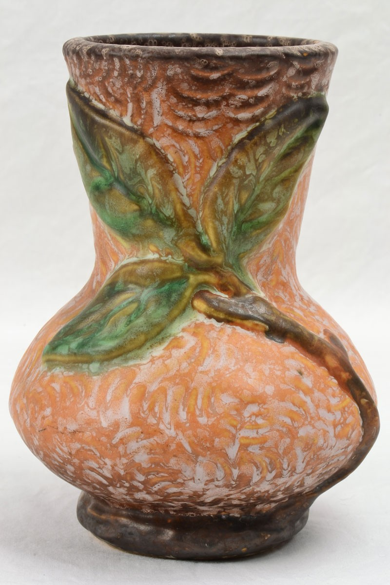 Weller Pottery 1920 33 Malverne Brown Small Vase The Kings Fortune