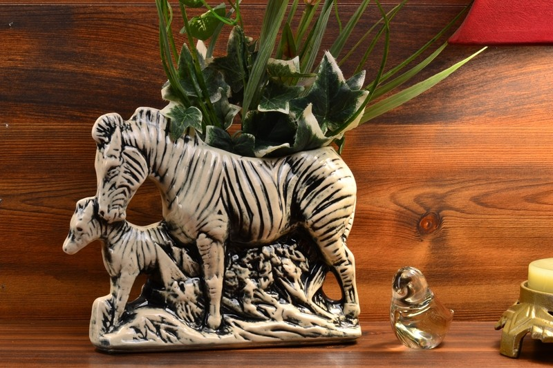 1956 - 57 McCoy Zebra Planter