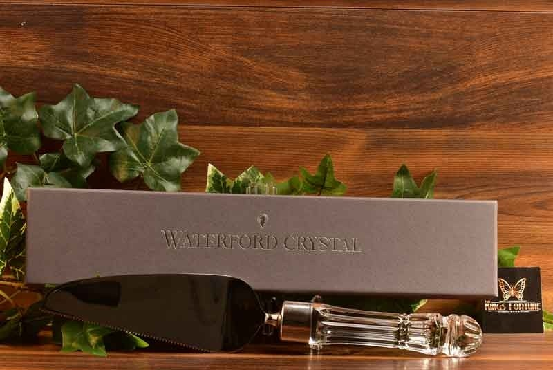 Waterford Crystal Marquis Offset Cake Server with Box
