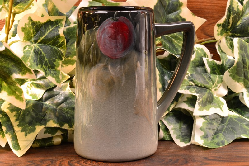 Weller Pottery 1898-1918 Grapes Eocean Mug Stein