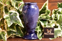 Brush McCoy Pottery 1924 Blue Onyx Vase #745