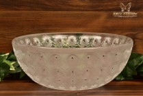 Lalique Crystal 1980's Nemours Thousand Eyes Bowl