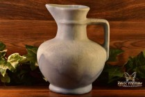 Muncie Pottery 1929 Matt White over Blue Pitcher #176-8