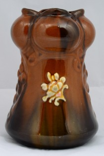 Peters and Reed/Weller Standard Ware Glaze Flower Bouquet Vase