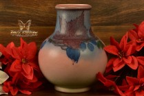 Rookwood Pottery 1926 Decorated Mat Leaf and Berries Porcelain Vase #2194 LNL Lincoln