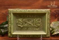Rookwood Pottery 1909 Advertising Pin Tray The Central Trust Company