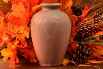 Rookwood Pottery 1920 Matte Pink Geometric A&C Vase #2434