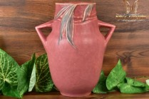 Roseville Pottery 1935 Rose Velmoss II Vase #719-9