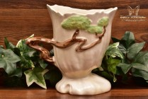 Roseville Pottery 1949 Temple White Ming Tree Planter #572-6