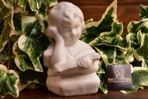 Van Briggle Pottery 1979-83 Moonglo Girl Bookend