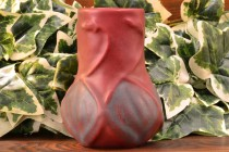 Van Briggle Pottery 1940-60 Mulberry Onion Bulb Vase #645