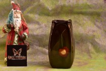 Weller Pottery 1896-1924 Louwelsa Cherry Vase #89 68-4