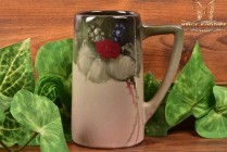 Weller Pottery 1898-1918 Berries Bunch Eocean Mug Stein #9005