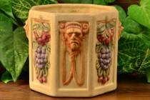 Weller Pottery 1914-1920's Roma Hexagon Planter