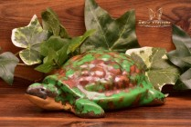 Weller Pottery 1920's Coppertone Large Turtle