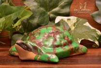 Weller Pottery 1920's Coppertone Small Turtle