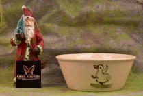Weller Pottery 1920's Zona Duck Cereal Bowl #M